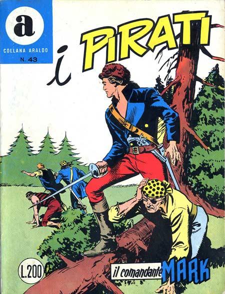 il Comandante Mark collana Araldo copertina numero 43