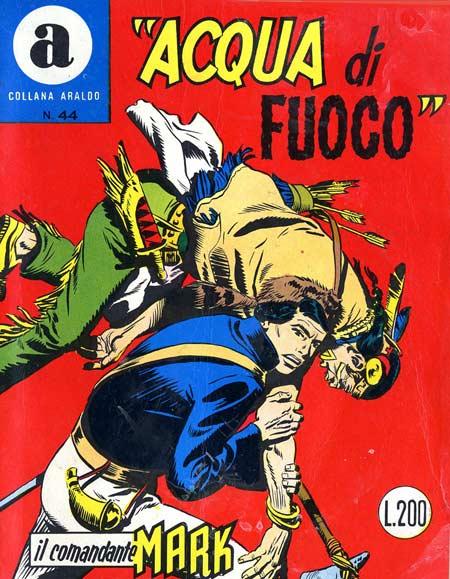 il Comandante Mark collana Araldo copertina numero 44