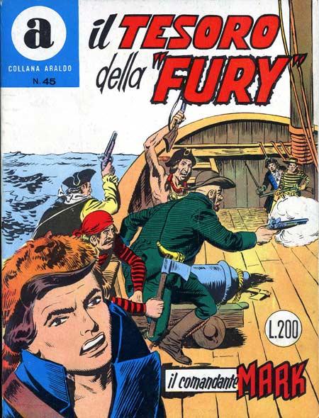 il Comandante Mark collana Araldo copertina numero 45