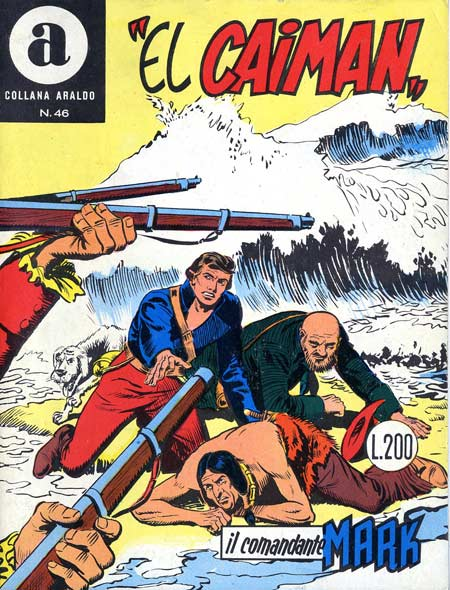 il Comandante Mark collana Araldo copertina numero 46