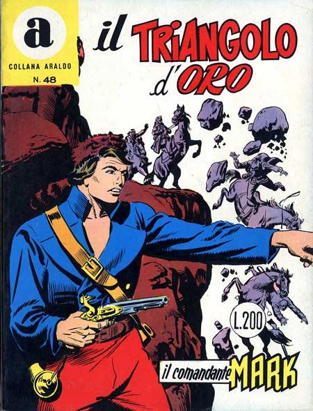 il Comandante Mark collana Araldo copertina numero 48