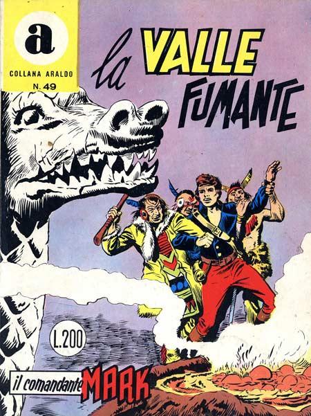 il Comandante Mark collana Araldo copertina numero 49