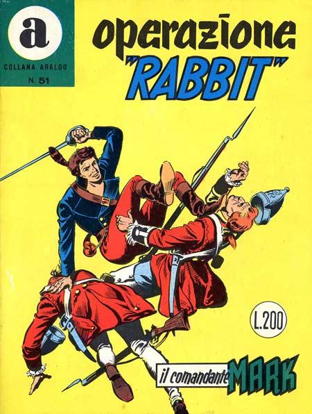 il Comandante Mark collana Araldo copertina numero 51