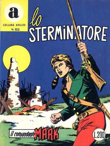 il Comandante Mark collana Araldo copertina numero 52