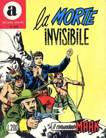 il Comandante Mark collana Araldo copertina numero 53