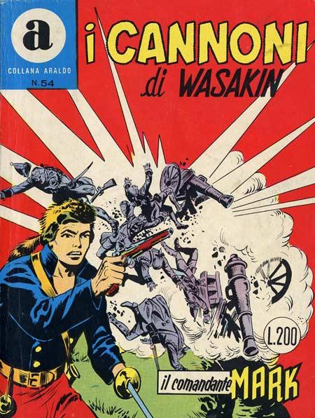 il Comandante Mark collana Araldo copertina numero 54