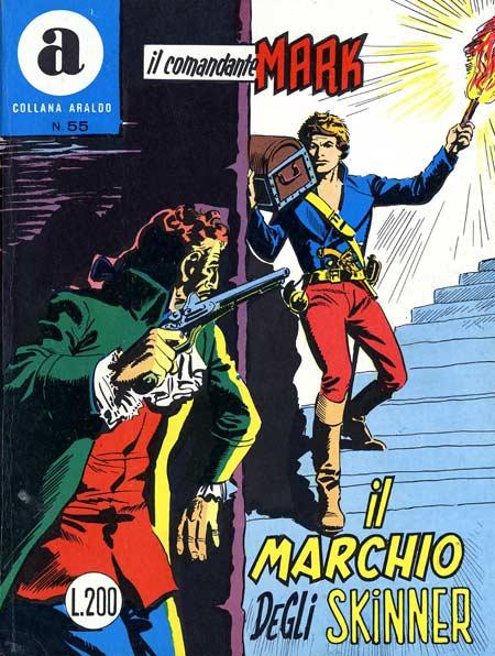 il Comandante Mark collana Araldo copertina numero 55