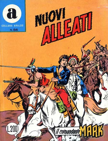 il Comandante Mark collana Araldo copertina numero 56