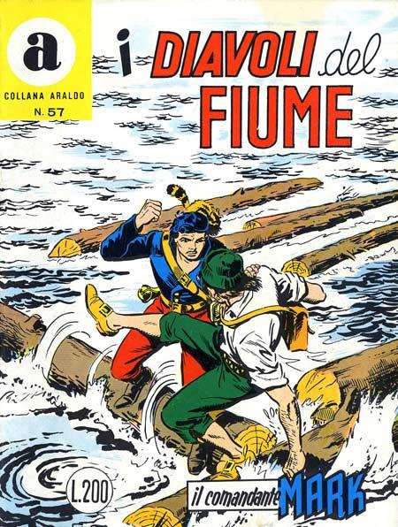 il Comandante Mark collana Araldo copertina numero 57