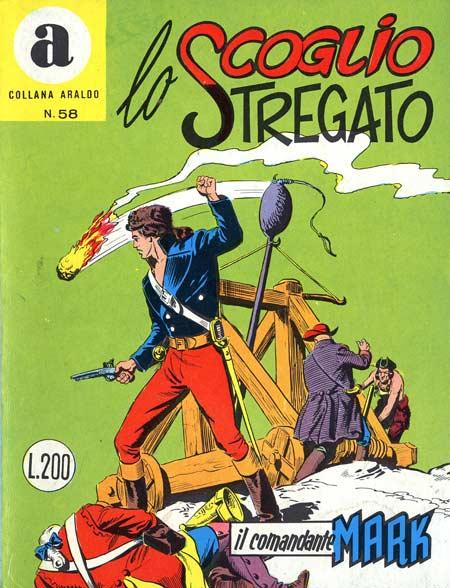 il Comandante Mark collana Araldo copertina numero 58