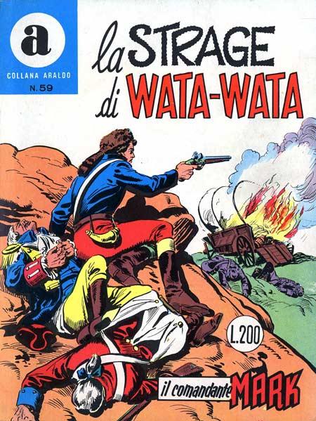 il Comandante Mark collana Araldo copertina numero 59