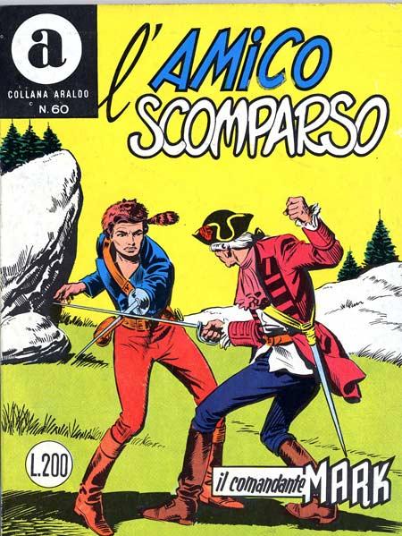 il Comandante Mark collana Araldo copertina numero 60