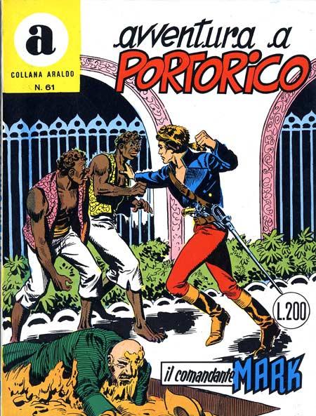 il Comandante Mark collana Araldo copertina numero 61