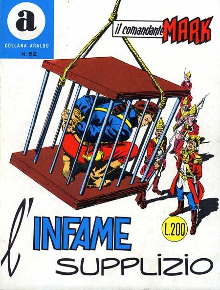 il Comandante Mark collana Araldo copertina numero 62