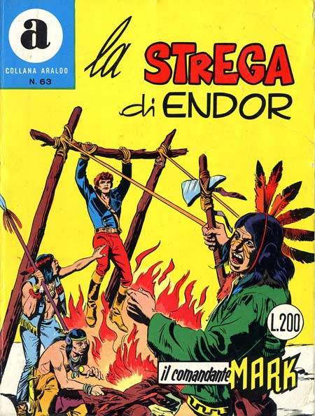 il Comandante Mark collana Araldo copertina numero 63