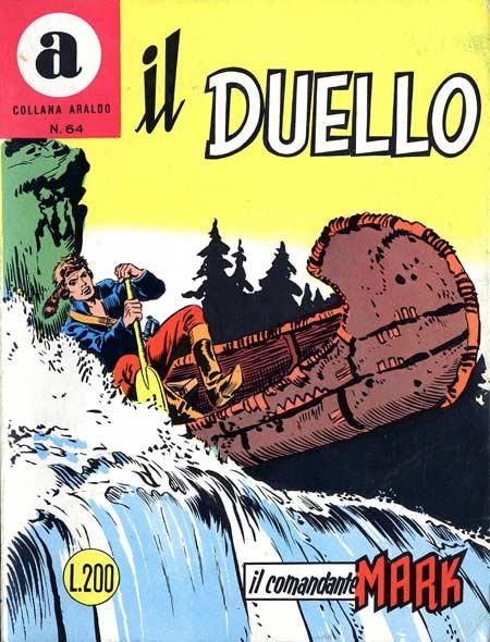 il Comandante Mark collana Araldo copertina numero 64
