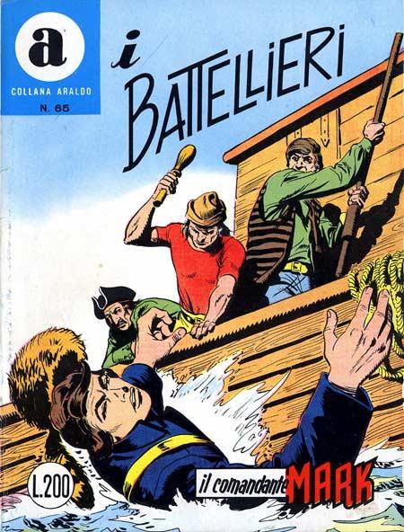 il Comandante Mark collana Araldo copertina numero 65