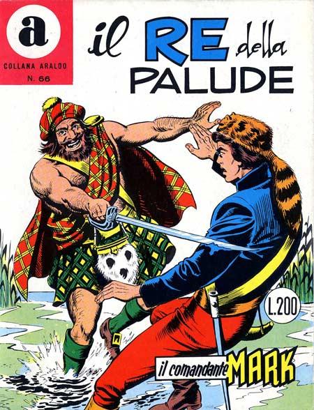 il Comandante Mark collana Araldo copertina numero 66