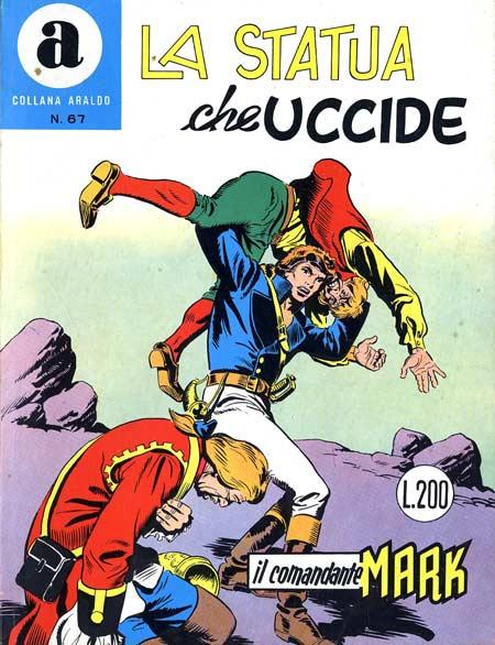 il Comandante Mark collana Araldo copertina numero 67