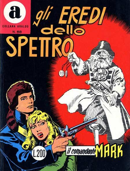il Comandante Mark collana Araldo copertina numero 68