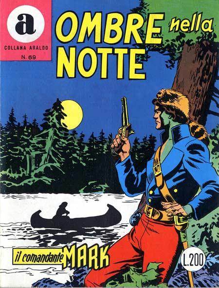 il Comandante Mark collana Araldo copertina numero 69