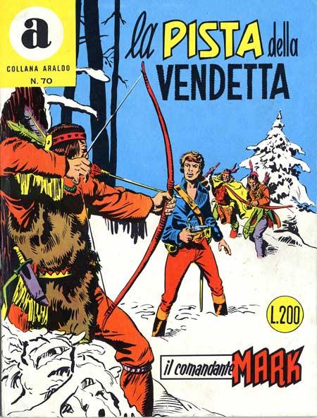 il Comandante Mark collana Araldo copertina numero 70