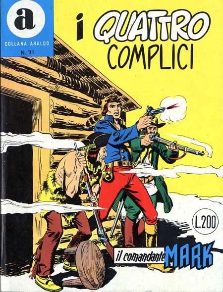 il Comandante Mark collana Araldo copertina numero 71