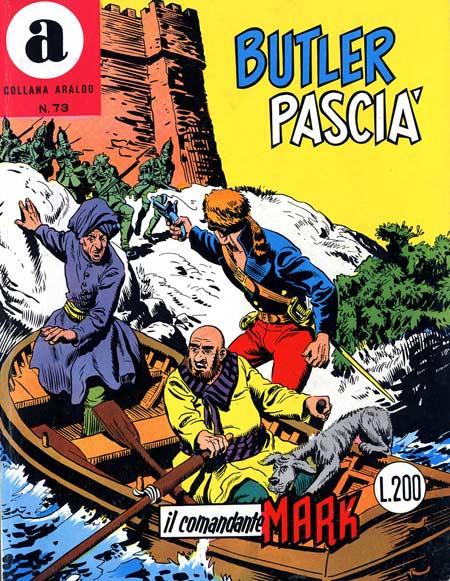 il Comandante Mark collana Araldo copertina numero 73