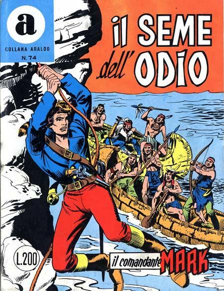 il Comandante Mark collana Araldo copertina numero 74