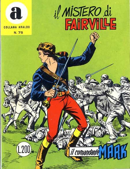 il Comandante Mark collana Araldo copertina numero 75