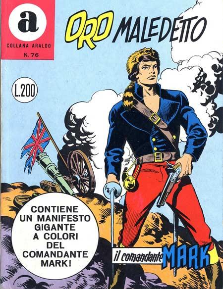 il Comandante Mark collana Araldo copertina numero 76