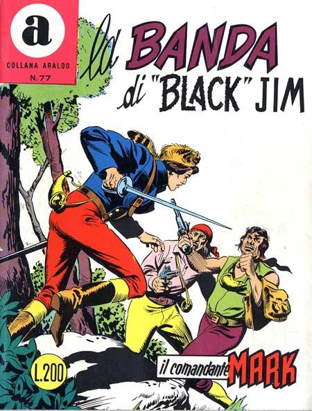 il Comandante Mark collana Araldo copertina numero 77