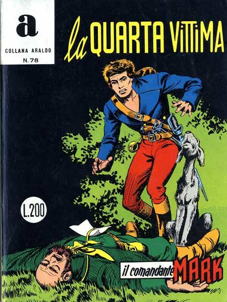 il Comandante Mark collana Araldo copertina numero 78