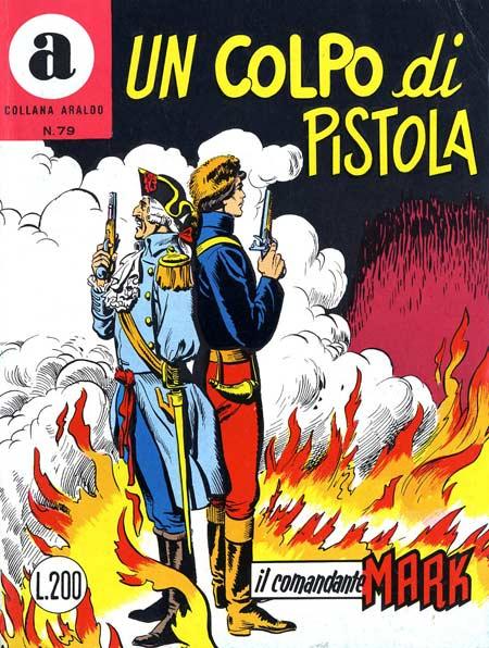 il Comandante Mark collana Araldo copertina numero 79