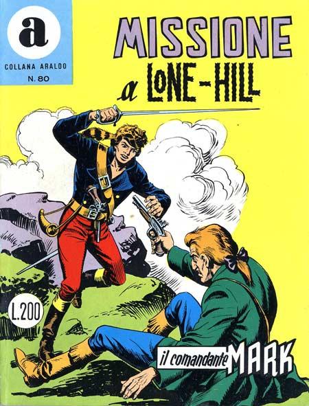 il Comandante Mark collana Araldo copertina numero 80
