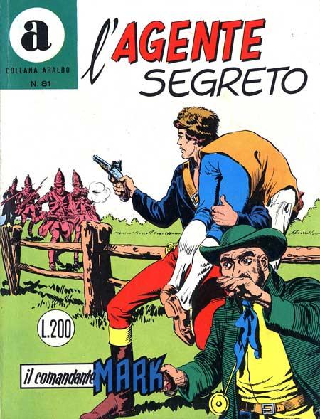 il Comandante Mark collana Araldo copertina numero 81
