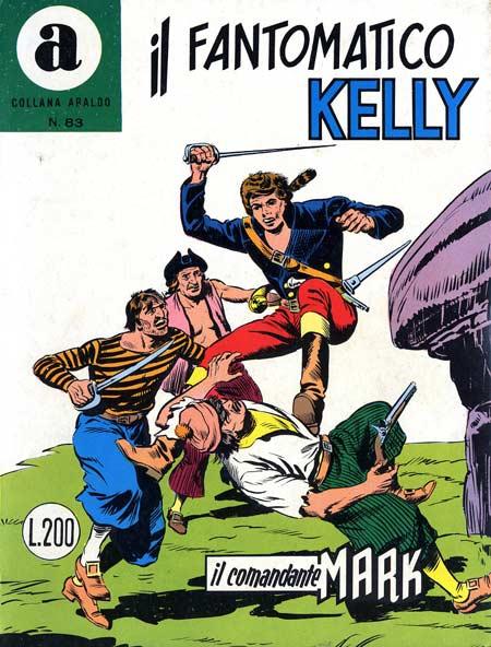il Comandante Mark collana Araldo copertina numero 83