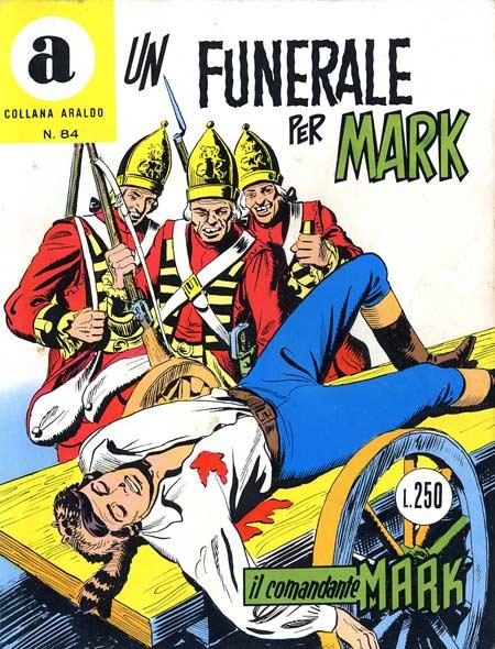 il Comandante Mark collana Araldo copertina numero 84