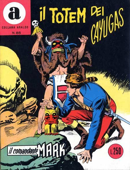 il Comandante Mark collana Araldo copertina numero 85