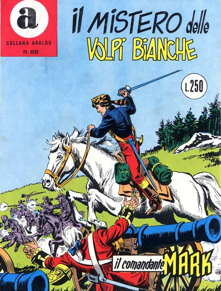 il Comandante Mark collana Araldo copertina numero 86