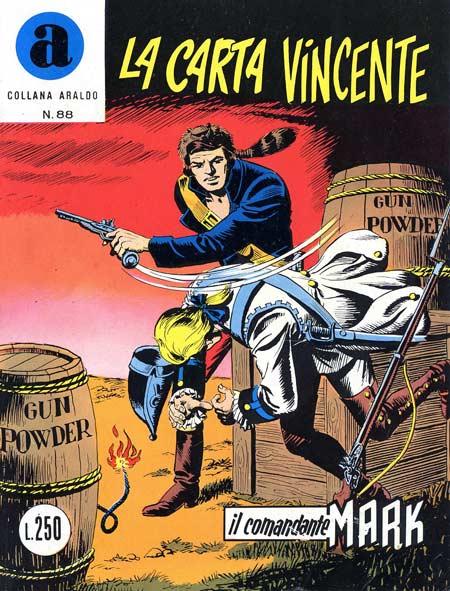 il Comandante Mark collana Araldo copertina numero 88