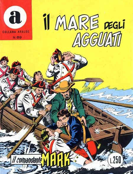 il Comandante Mark collana Araldo copertina numero 89