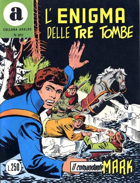 il Comandante Mark collana Araldo copertina numero 90