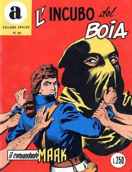 il Comandante Mark collana Araldo copertina numero 91