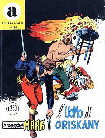 il Comandante Mark collana Araldo copertina numero 92
