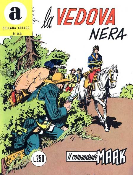 il Comandante Mark collana Araldo copertina numero 93