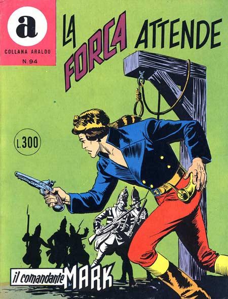 il Comandante Mark collana Araldo copertina numero 94