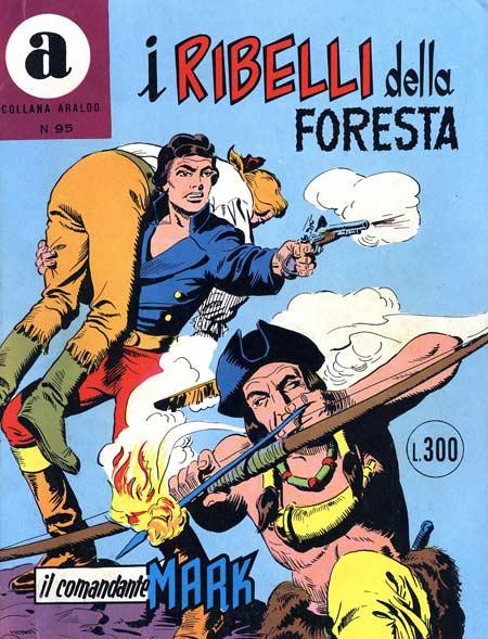 il Comandante Mark collana Araldo copertina numero 95