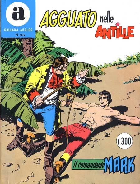 il Comandante Mark collana Araldo copertina numero 96