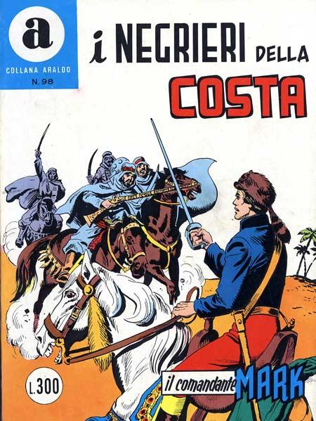 il Comandante Mark collana Araldo copertina numero 98